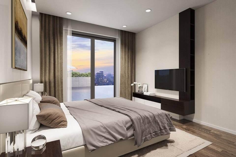 phòng ngủ căn hộ Sapphira quận 9