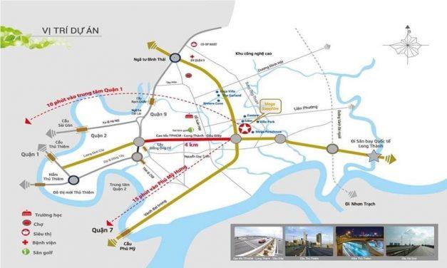 Vị trí dự án Sapphira Khang Điền quận 9 tiềm năng như thế nào?