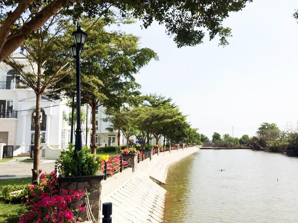 công viên ven sông biệt thự Venica