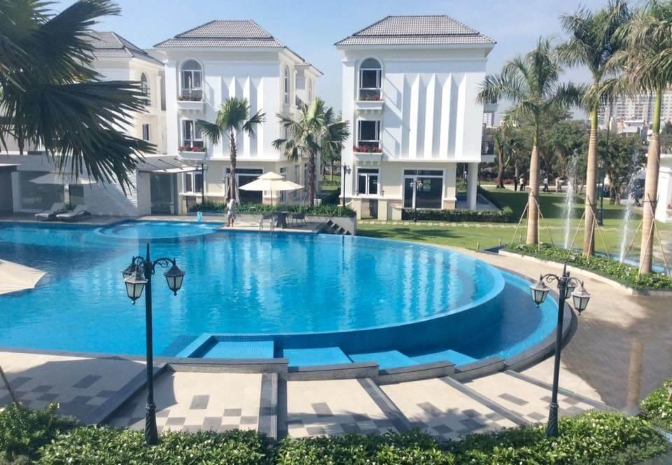 nhà và hồ bơi biệt thự Venica Khang Điền
